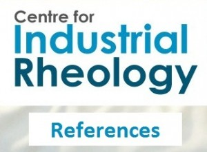 Centre for Industrial Rheology References