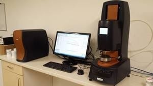 One of our three high performance rheometer systems.